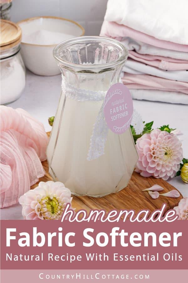 natural fabric softener recipe