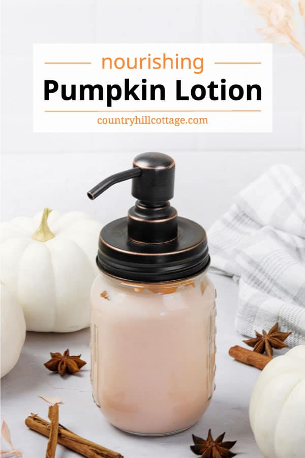 pumpkin lotion