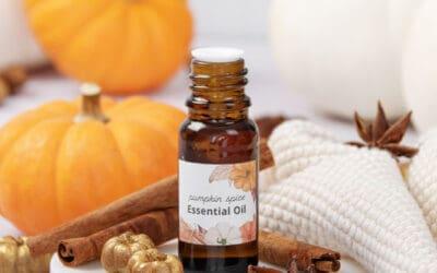 Pumpkin Spice Essential Oil Blend {10 Recipes}