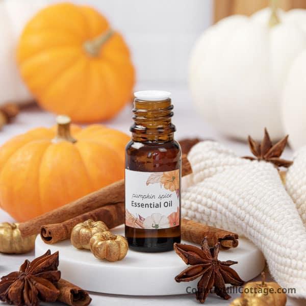 pumpkin spice essential oil