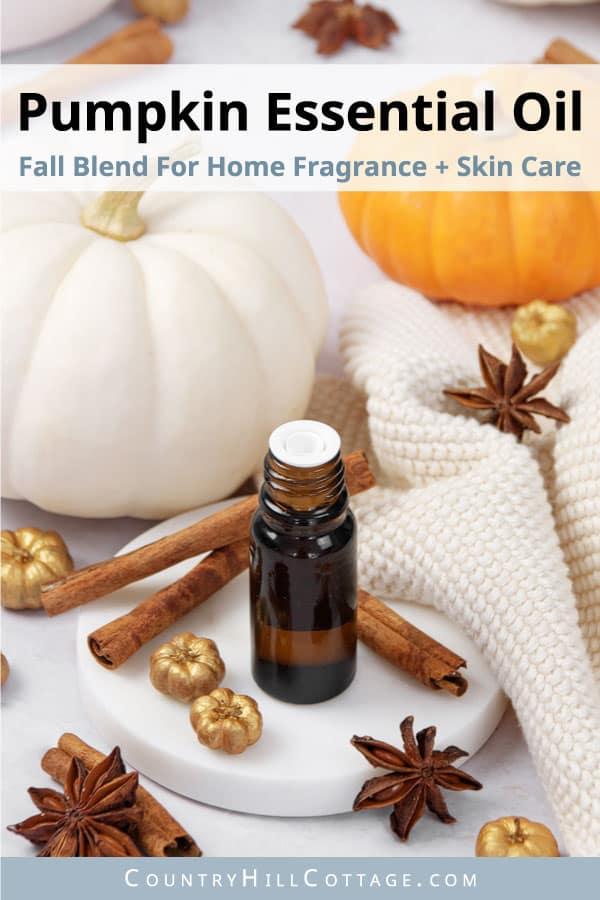 pumpkin spice essential oil recipe