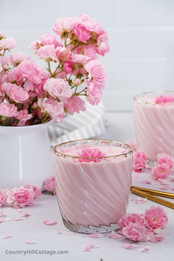 rose milk essence