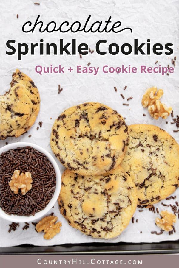 sugar sprinkle cookies