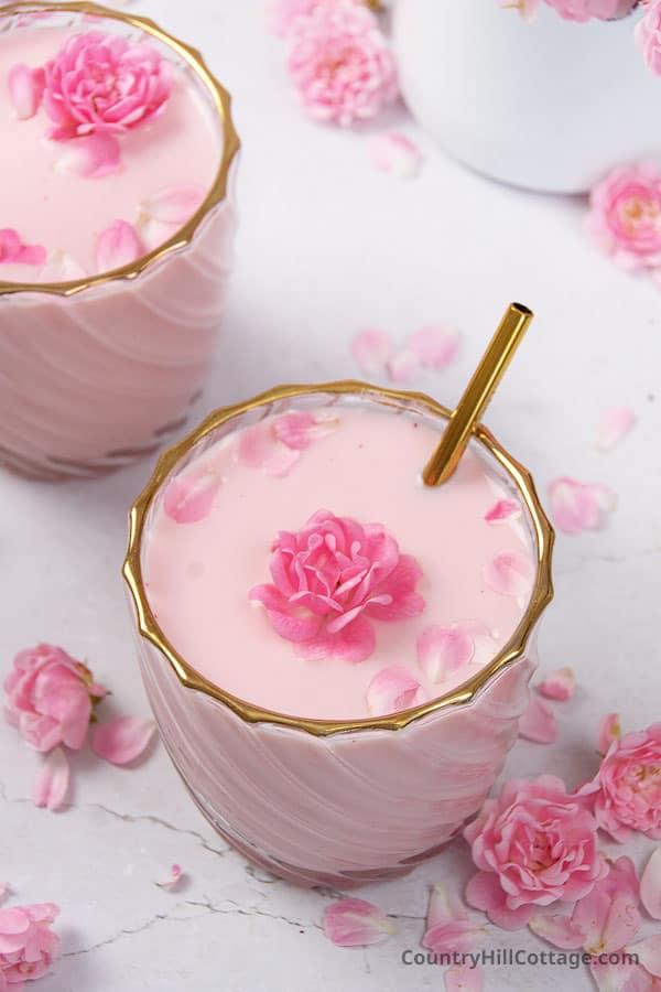 what is rose milk