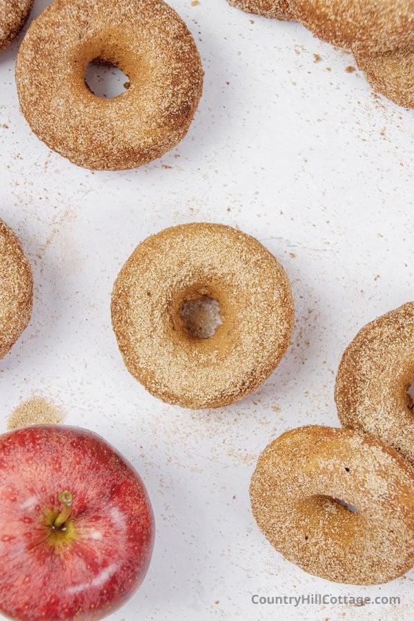 applesauce donuts recipe