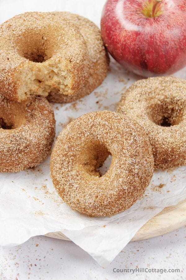 baked apple donuts recipe