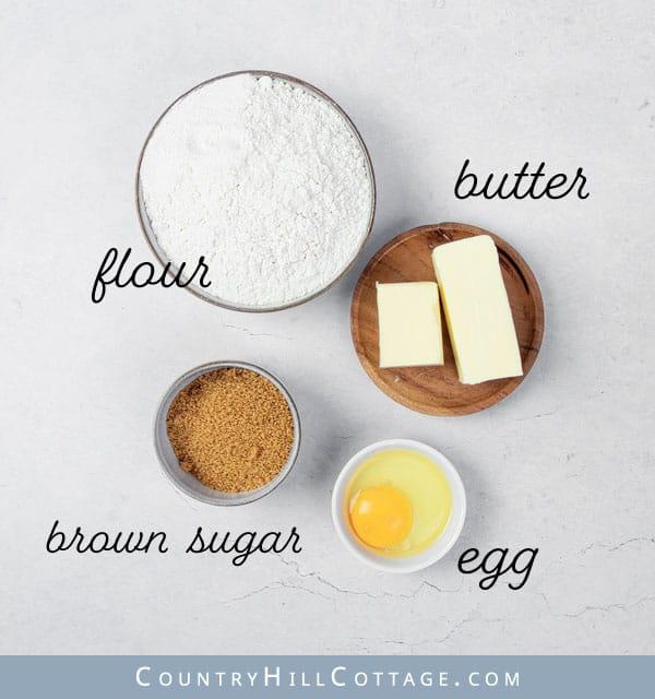 brown sugar crust ingredients