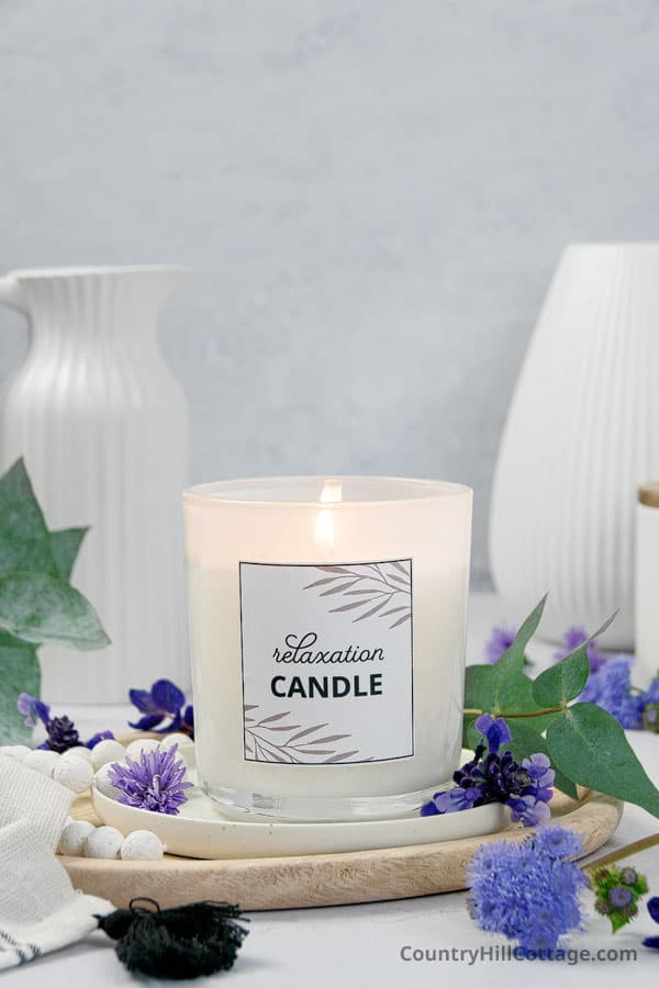candles for stress and anxiety