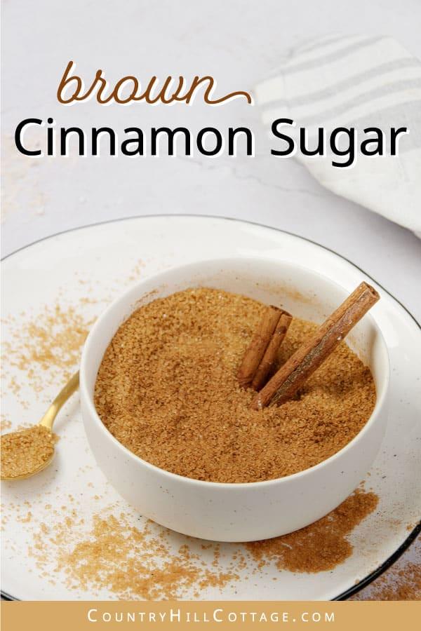cinnamon brown sugar