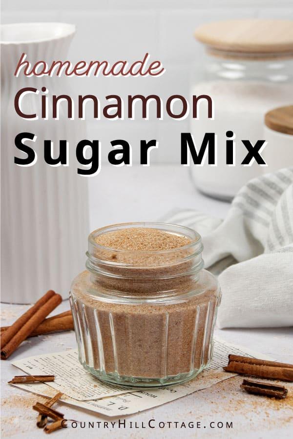 cinnamon sugar mix
