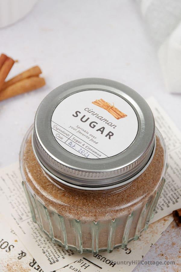 cinnamon and sugar recipe
