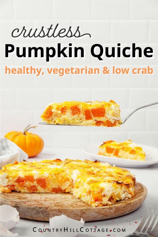 crustless pumpkin quiche