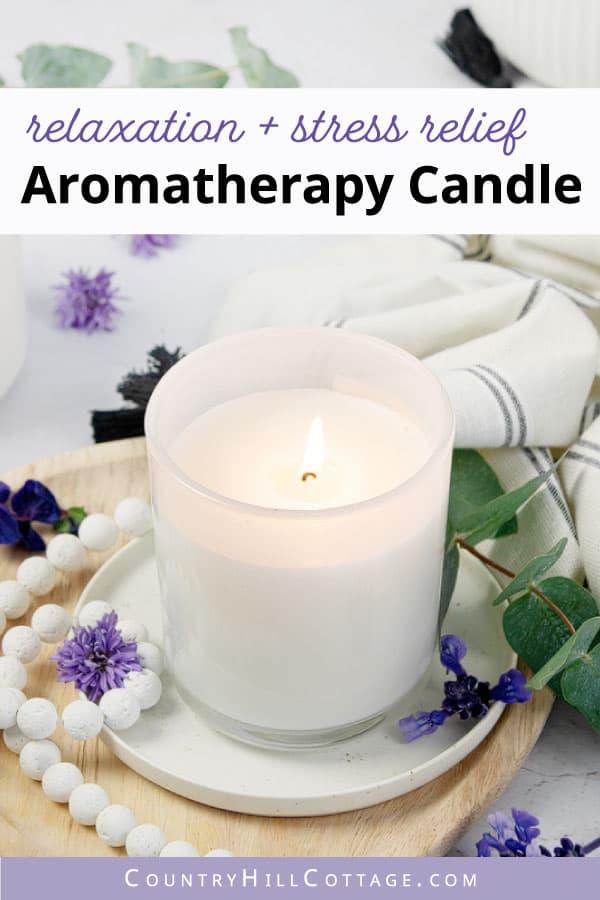de stress candle