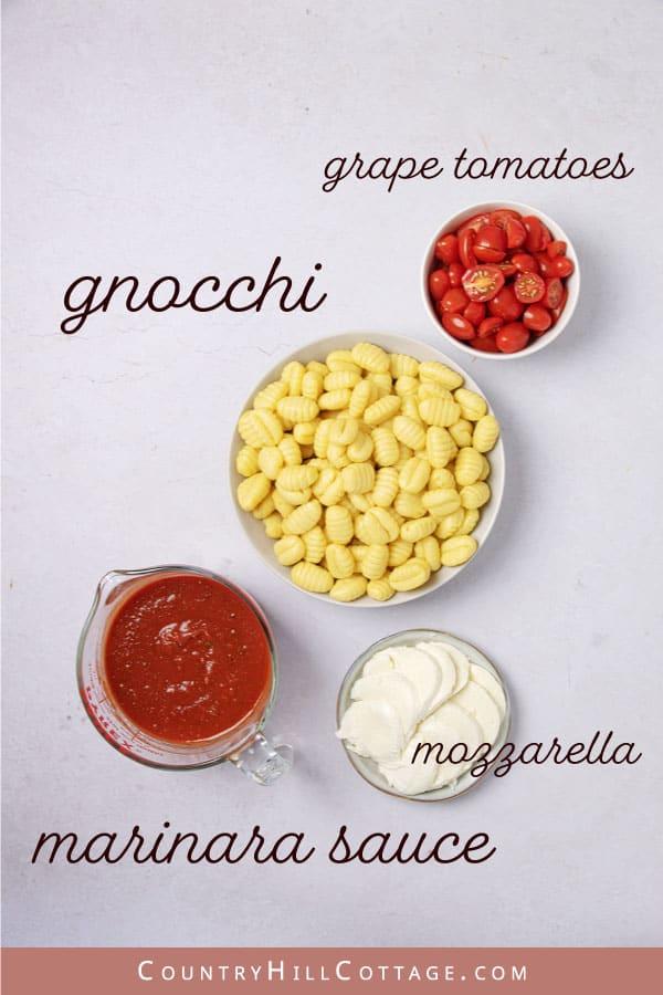 gnocchi bake ingredients