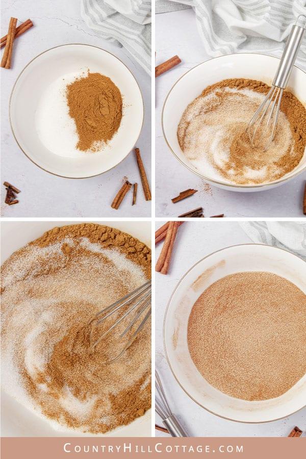 how to make cinnamon sugar