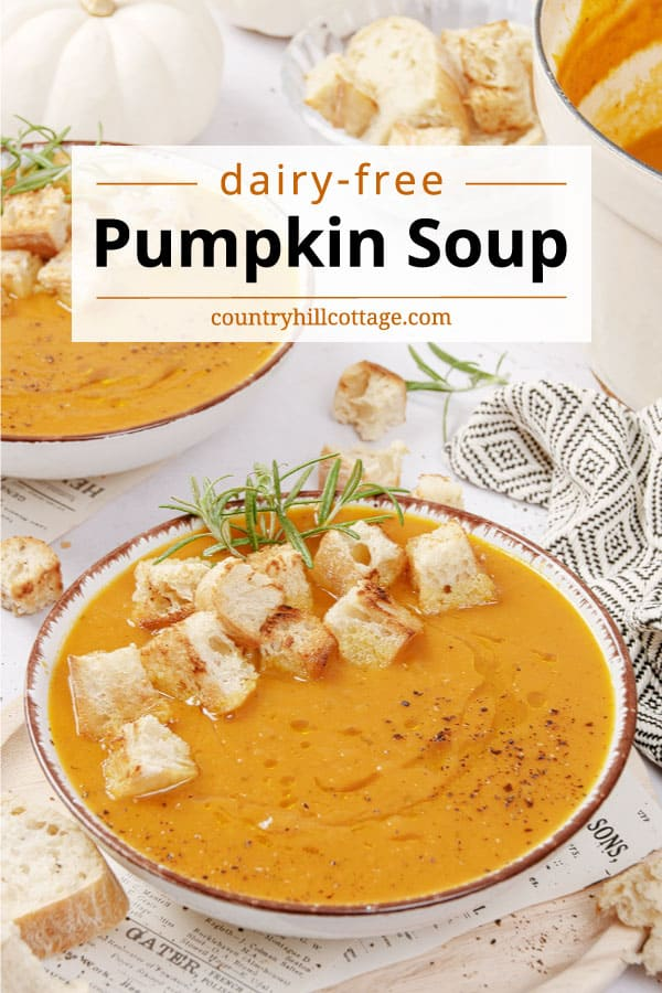 pumpkin soup without cream