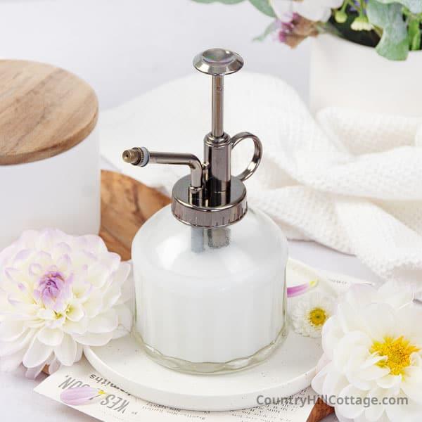 DIY Spray Lotion Recipe
