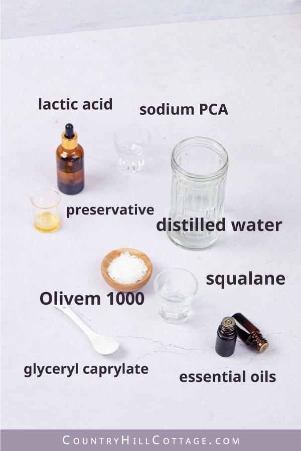 spray lotion ingredients