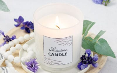 Stress Relief Candle Recipe {With 8 Calming Candle Scents}