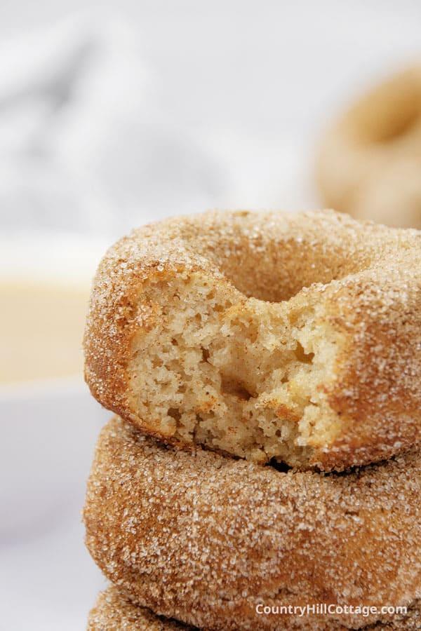sweet apple donuts